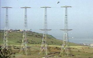 Les antennes utilisées pour les premiers RADAR