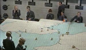 Table de plotting, l'ancêtre du contrôle aérien