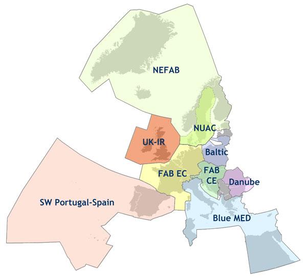 Les différents FAB en Europe