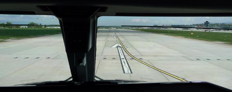 Pret au décollage