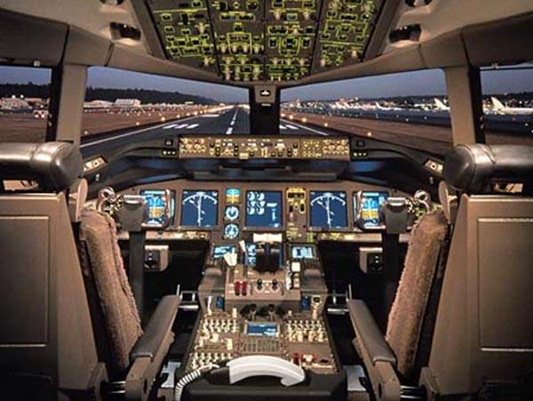 Cockpit de Boeing 777