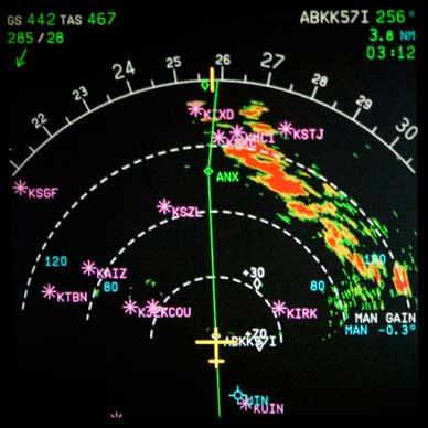 Radar météo