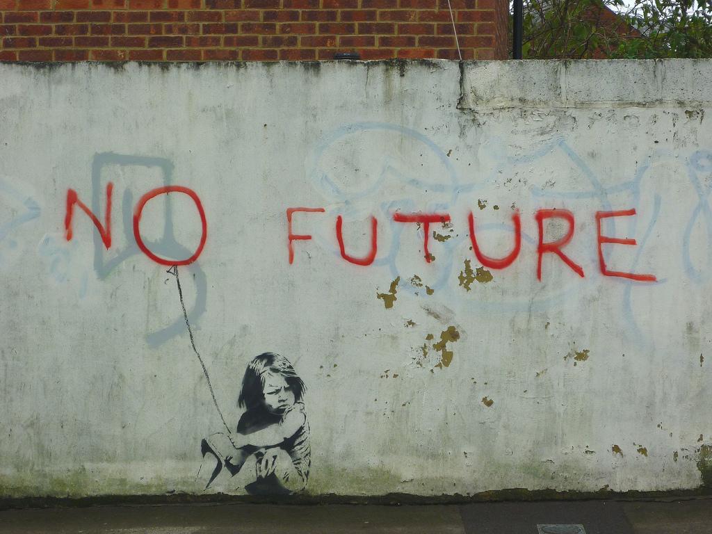 Une photo qui résume un peu le sentiment vis à vis du RP2 : allons nous dans le mur et quel futur s'offre à nous si les objectifs venaient à être validés ?